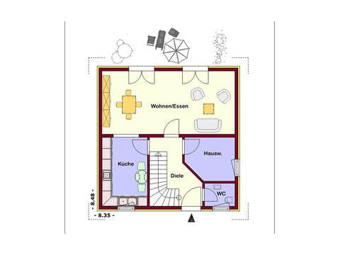 Akzent 112 Grundriss Erdgeschoss