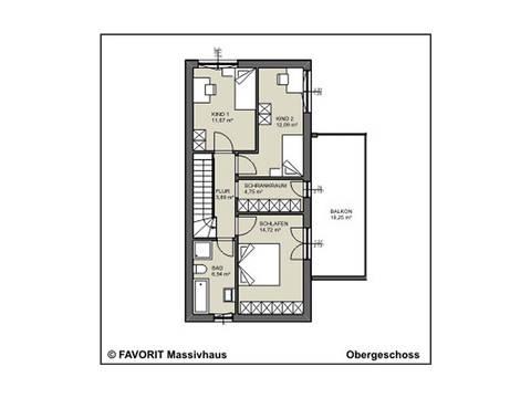 conceptDESIGN 142 Grundriss Dachgeschoss