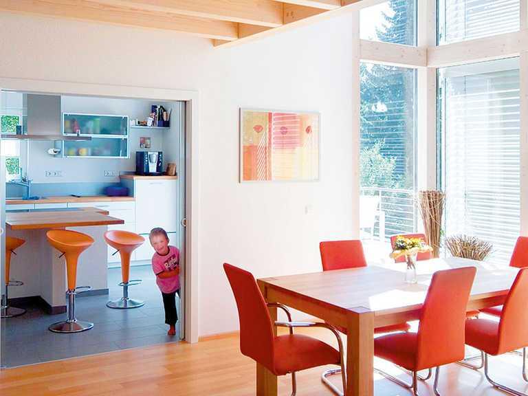 Küche und Essbereich - KitzlingerHaus - Kids