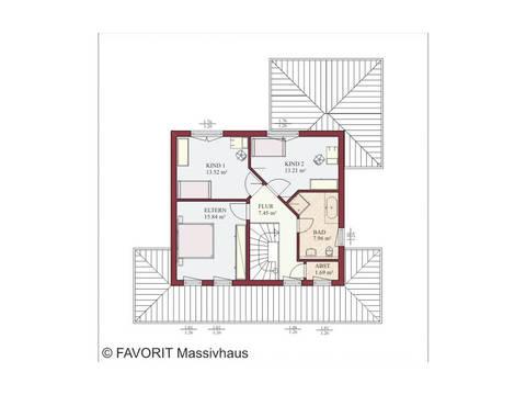Haus Ambiente 157 Grundriss Erdgeschoss