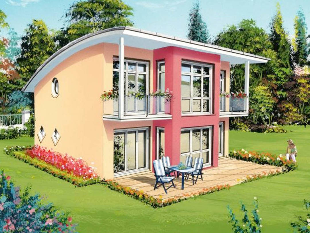 kreativ sun 164 favorit massivhaus. Black Bedroom Furniture Sets. Home Design Ideas