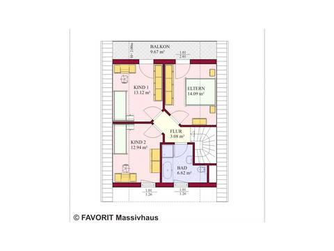 Haus Alpenland 119 Grundriss Dachgeschoss