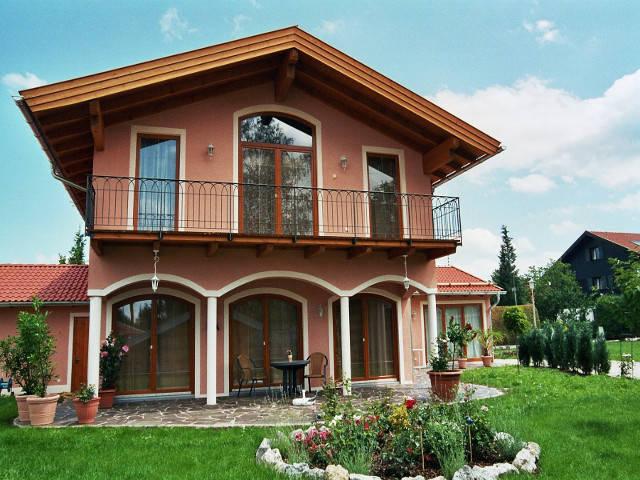 Toskanische Villa Ansicht 1