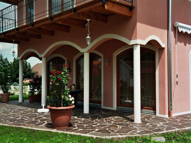 Toskanische Villa Ansicht 2