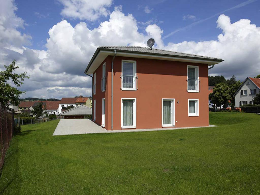 ICON-Modulhaus 3.01 CITY Ansicht 2 von Dennert Massivhaus