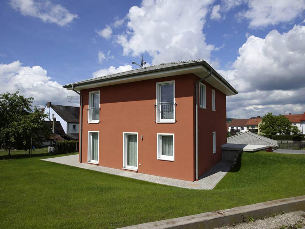 ICON-Modulhaus 3.01 CITY Ansicht 1 von Dennert Massivhaus