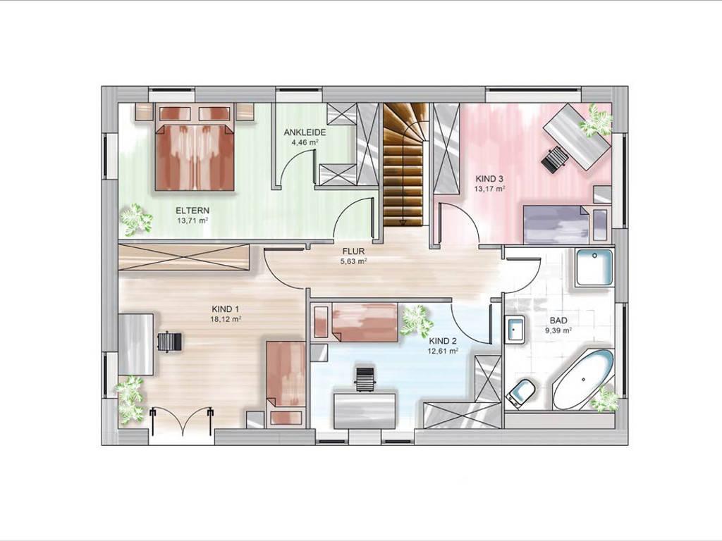 modulhaus icon city dennert massivhaus. Black Bedroom Furniture Sets. Home Design Ideas
