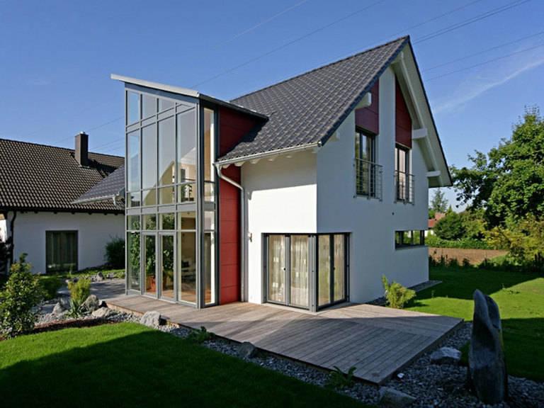 Bittermann & Weiss Holzhaus Clima-Aktiv Haus, Hausausstellung Fellbach