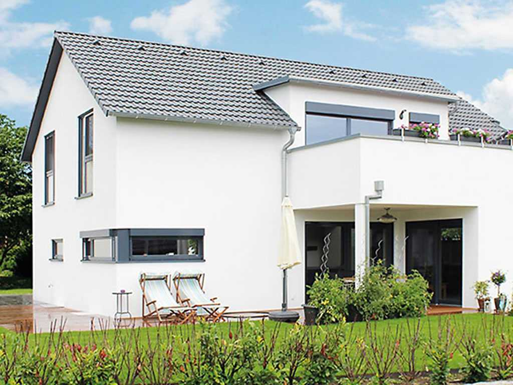 musterhaus einfamilienhaus. Black Bedroom Furniture Sets. Home Design Ideas