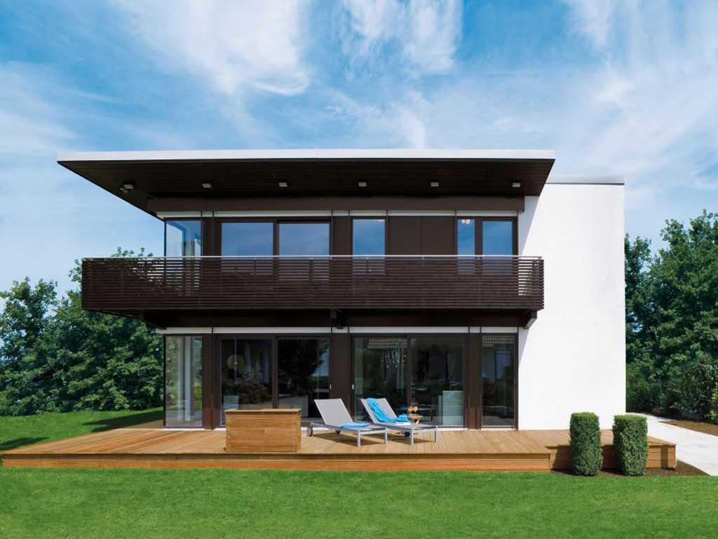 Regnauer Hausbau Vita-Cube, Hausausstellung Fellbach