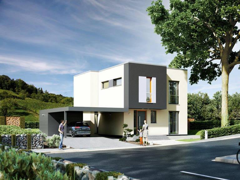 Rötzer Ziegel Element Haus Musterhaus, Hausausstellung Fellbach