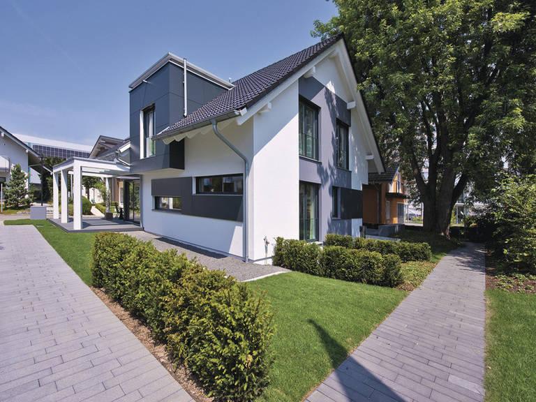 WeberHaus Energiesparhaus, Hausausstellung Fellbach
