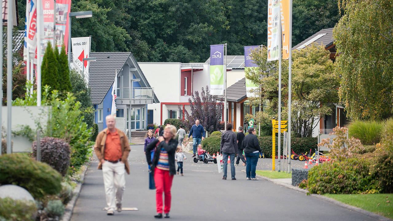 Hausausstellung Eigenheim und Garten Frankfurt Bad Vilbel