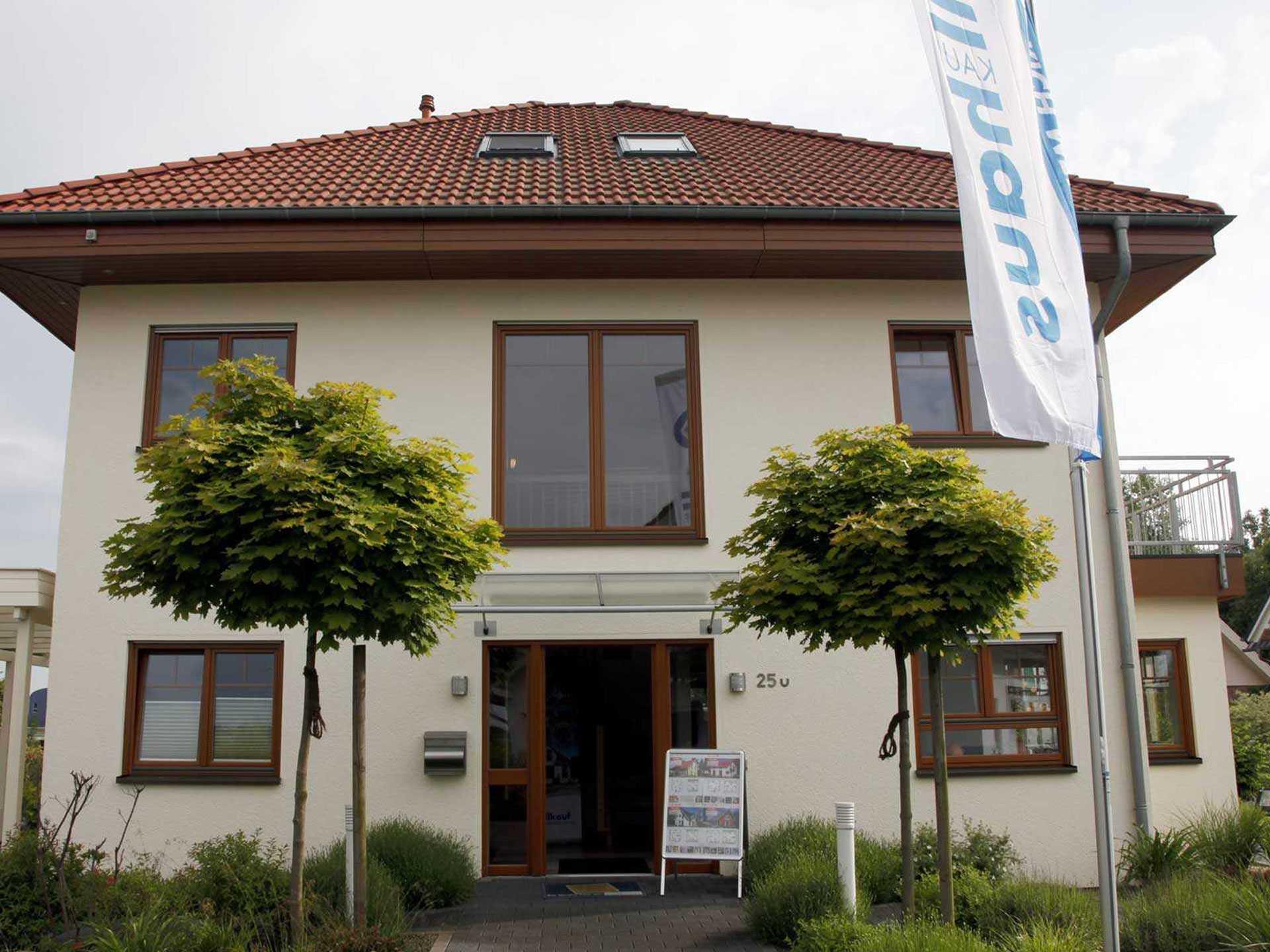 Allkauf_Haus-New_Line_1-FertighausWelt_Hannover Faszinierend Haus Am See Garbsen Dekorationen