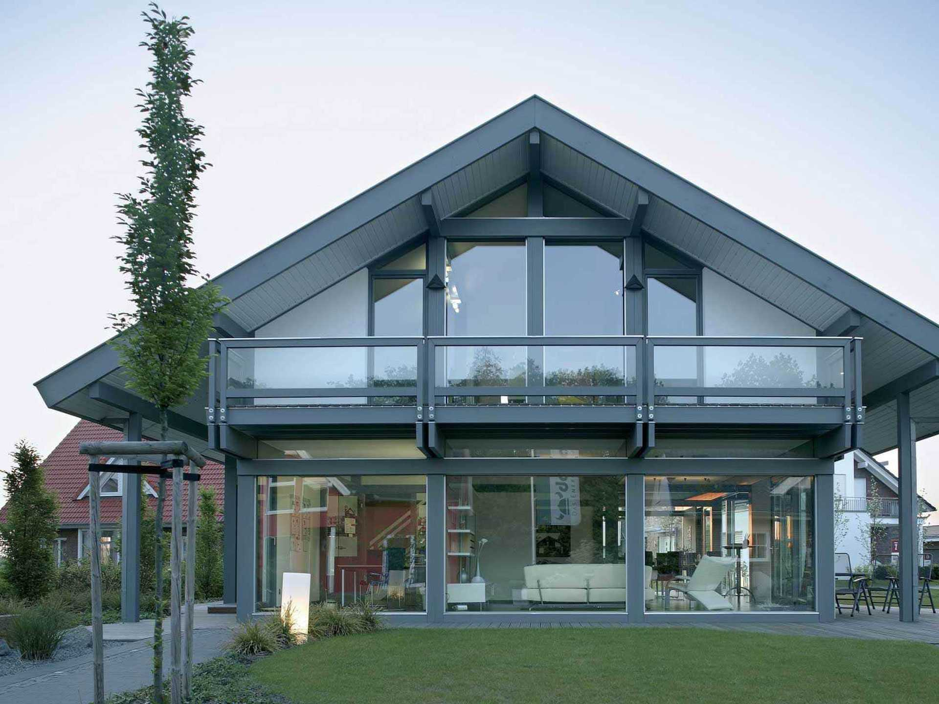 Baufirmen Hannover musterhauspark fertighauswelt am flughafen hannover