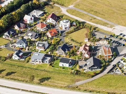 FertighausWelt Hannover Luftansicht