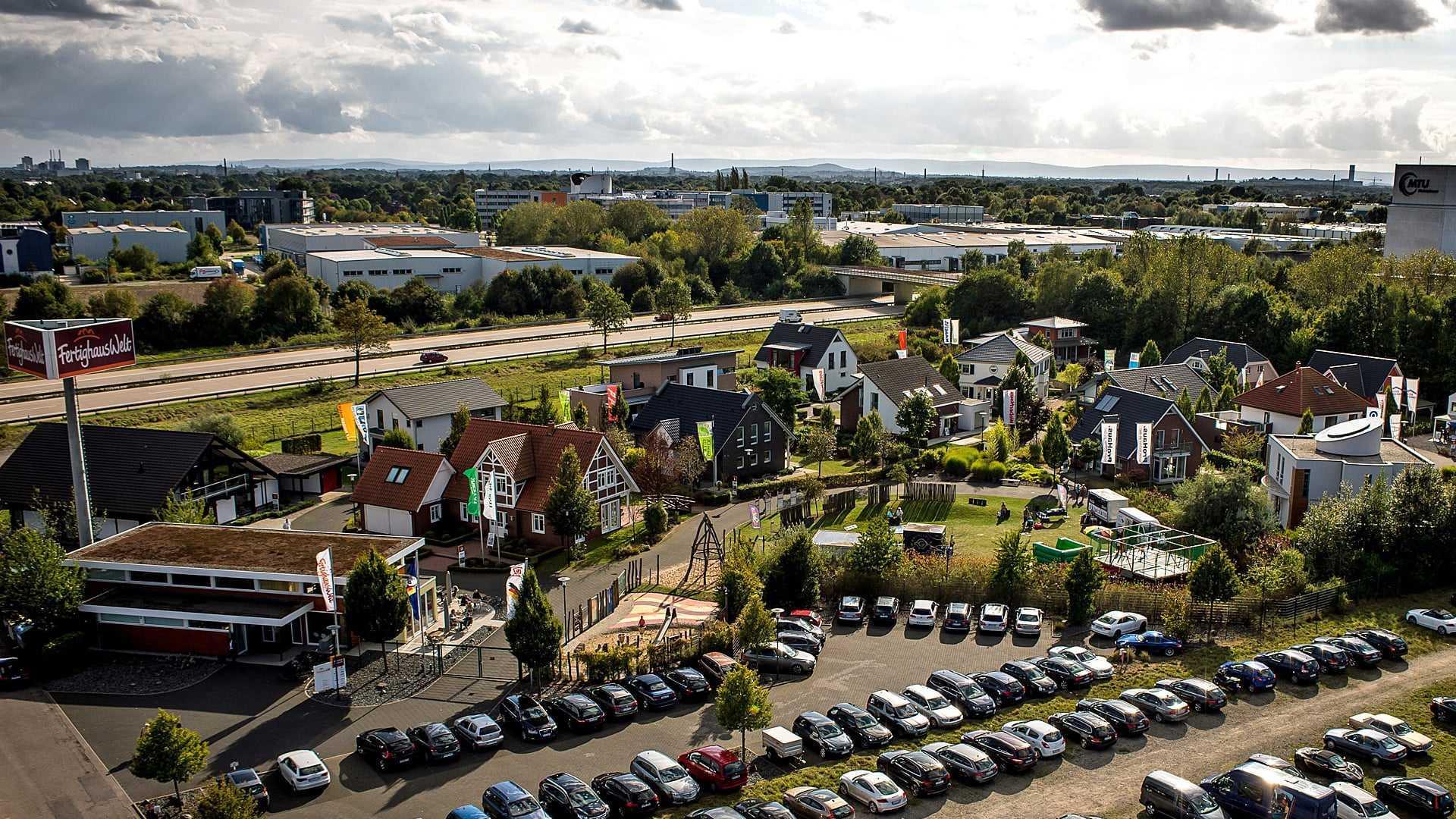 Bauplanung Hannover musterhauspark fertighauswelt am flughafen hannover