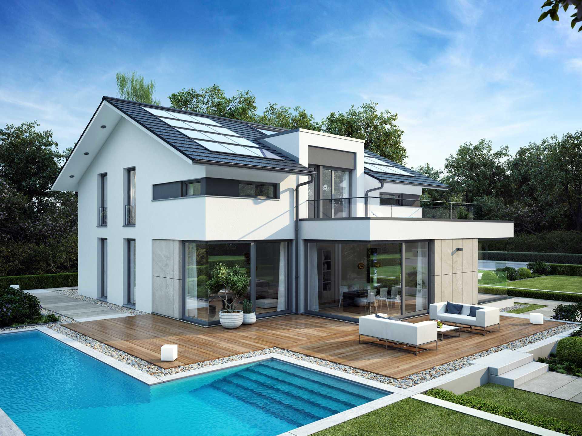 Fertighaus center mannheim for Fertighaus grundrisse einfamilienhaus