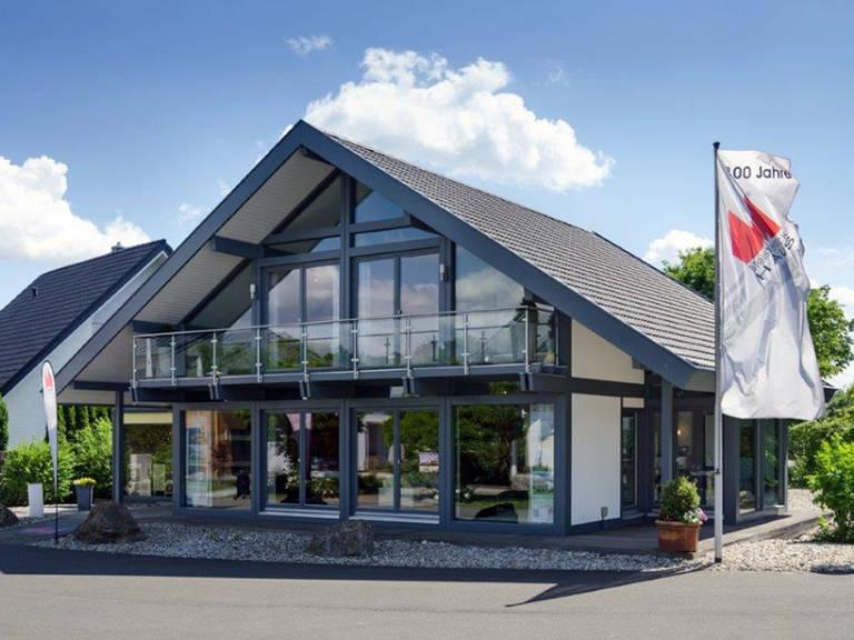 Meisterstück-Haus Musterhaus Ästhetik, Fertighaus Center Mannheim