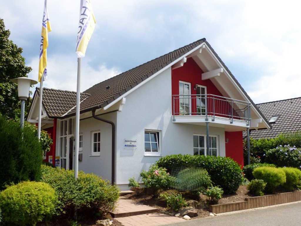 Scanhaus Musterhaus Mannheim, Fertighaus Center Mannheim