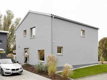 Schwörerhaus Schöner Wohnen Haus Mono Plan E 15-143.2, Fertighaus Center Mannheim