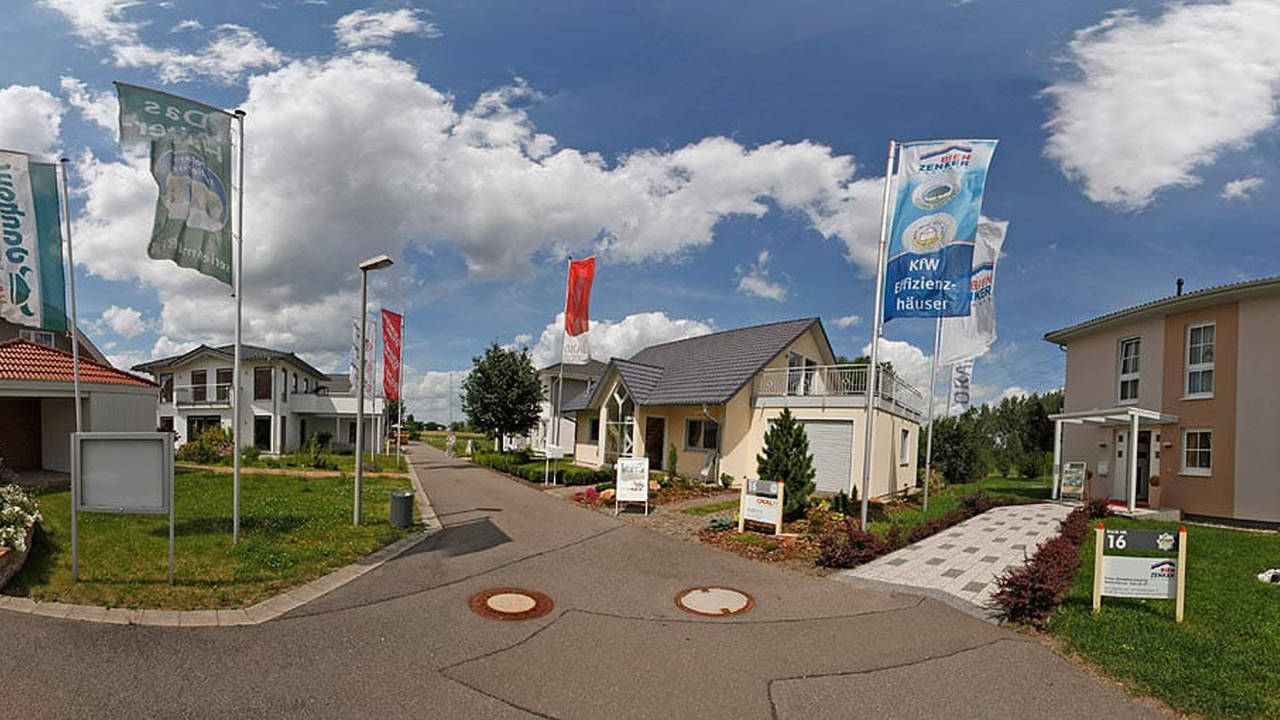Musterhausausstellung Unger Park Leipzig