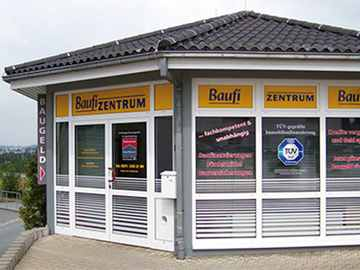 Baufi-Zentrum Eingangsgebäude, Chemnitz