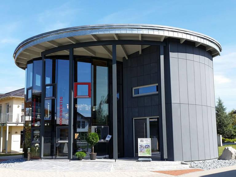 Drevo Haus Beratungs-Pavillon, Bauzentrum Poing