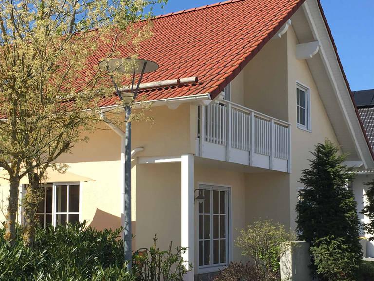 OKAL Haus Musterhaus F 98–122, Bauzentrum Poing