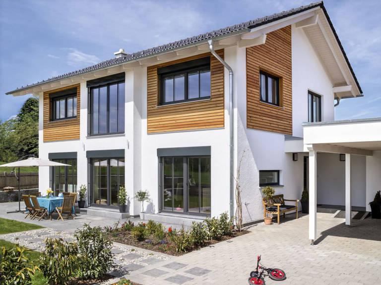 Regnauer Hausbau neues Musterhaus 2016, Bauzentrum Poing
