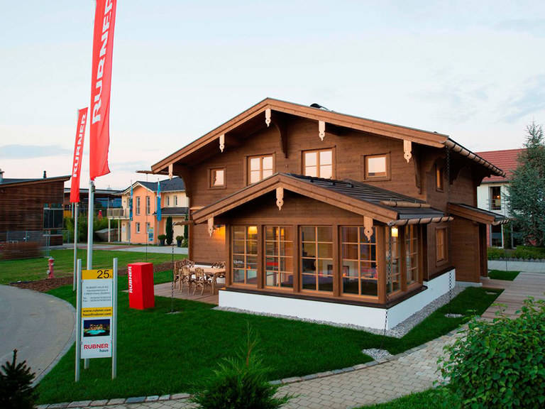 Rubner Haus Musterhaus CLARA, Bauzentrum Poing