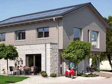 SchwörerHaus Energieplus Haus Poing, Bauzentrum Poing