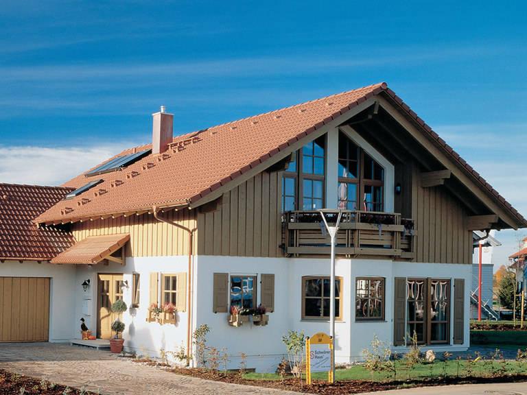 SchwörerHaus Wärme-Gewinnhaus Plan 229.3, Bauzentrum Poing