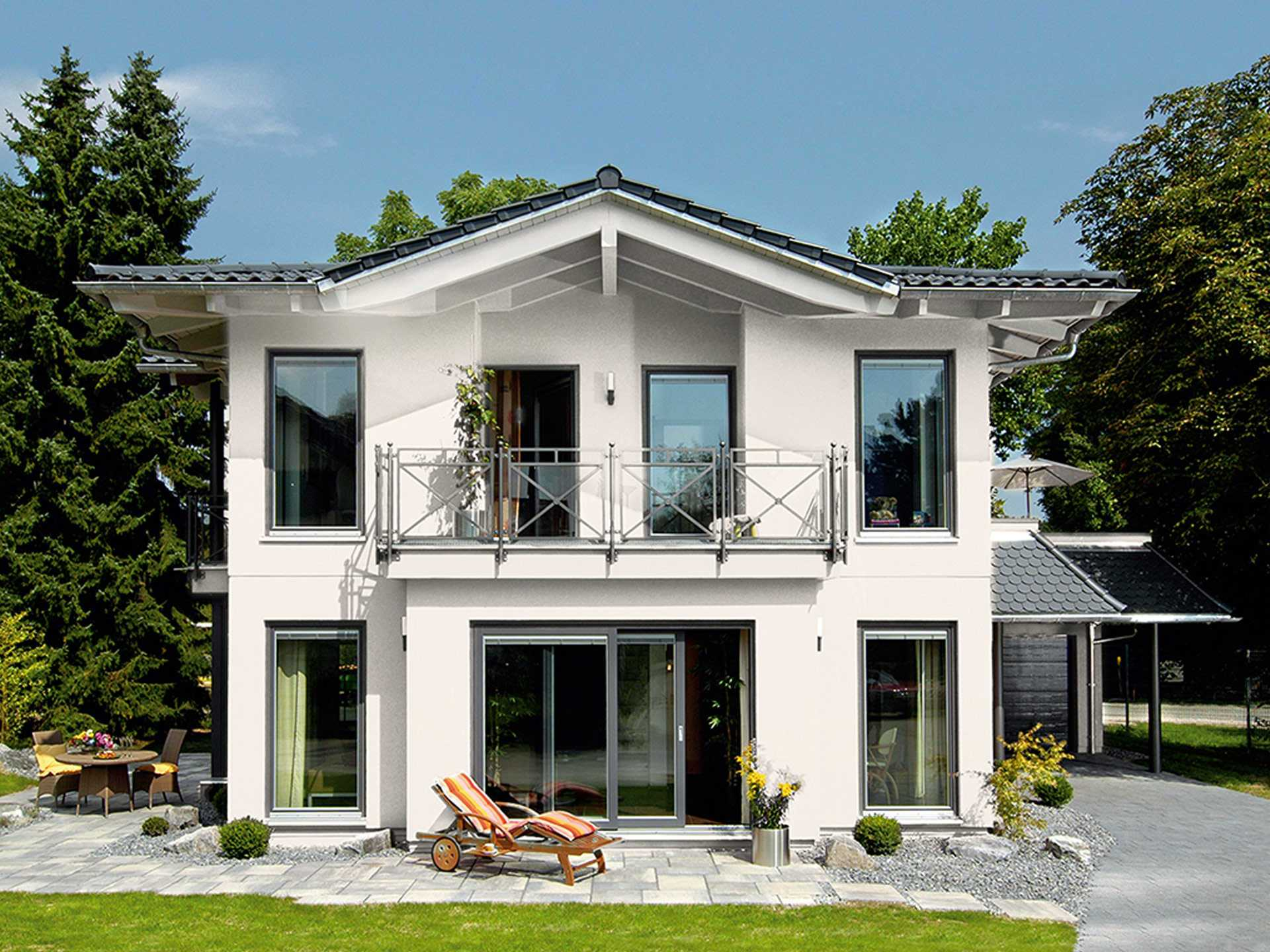 Hausbau center ulm des bdf e v for Fertighaus grundrisse einfamilienhaus