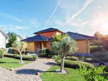 Massive Wohnbau Einfamilienhaus 2