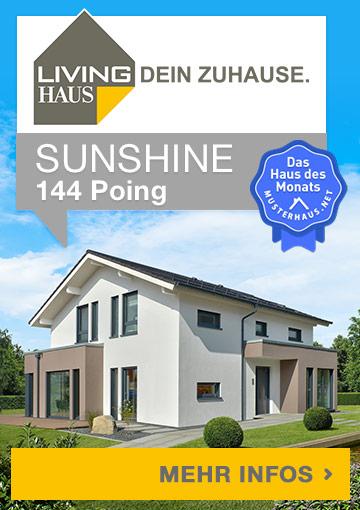 Musterhaus SUNSHINE 144 Poing von Living Haus - Haus des Monats September