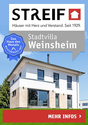 Mustehaus Weinsheim von Streif Haus - Haus des Monats Juni
