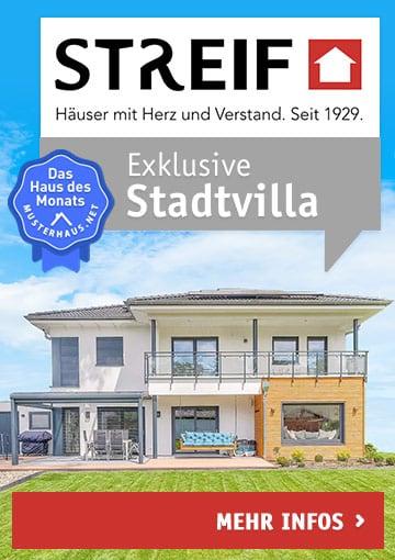 Exklusive Stadtvilla von Streif  - Haus des Monats August